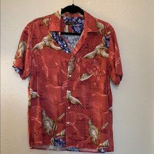Tasso Elba Island Silk Shirt